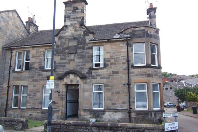 Thumbnail 2 bed flat to rent in Wallace Street, Stirling Town, Stirling