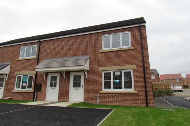 2 bed terraced house for sale in Roedeer Court, Wideopen, Newcastle Upon Tyne