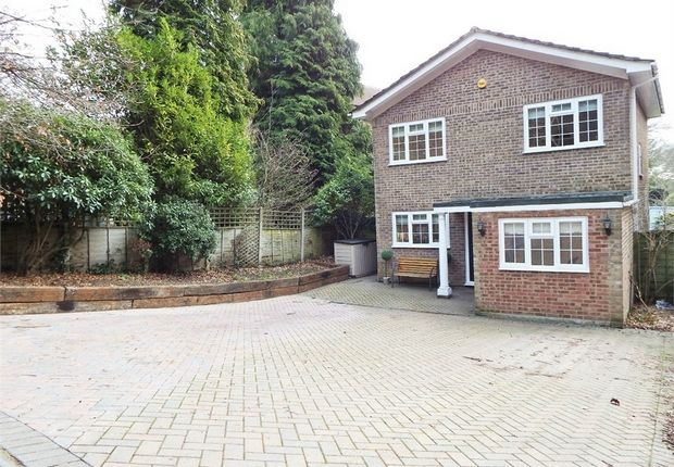 Thumbnail Detached house for sale in Woodlands Walk, Blackwater, Camberley, Hampshire