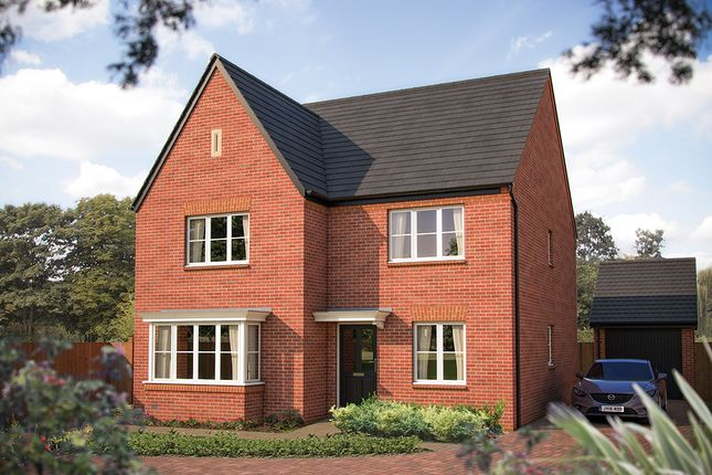 "Thumbnail Detached house for sale in ""The Oxford"" at Larbourne Park Road, Flore, Northampton"