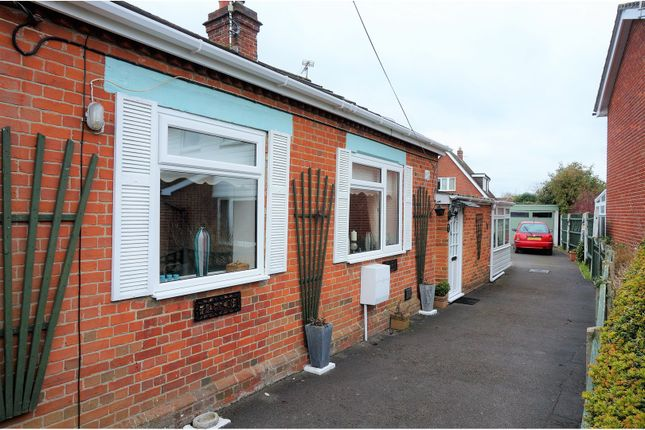 Thumbnail Semi-detached bungalow for sale in Hill Lane, Colden Common, Winchester