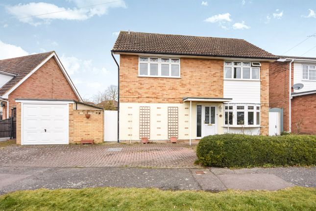 Thumbnail Detached house for sale in Plovers Mead, Wyatts Green, Brentwood