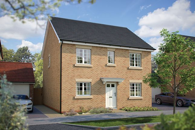 "Thumbnail Detached house for sale in ""The Buxton"" at Harvest Rise, Shefford"