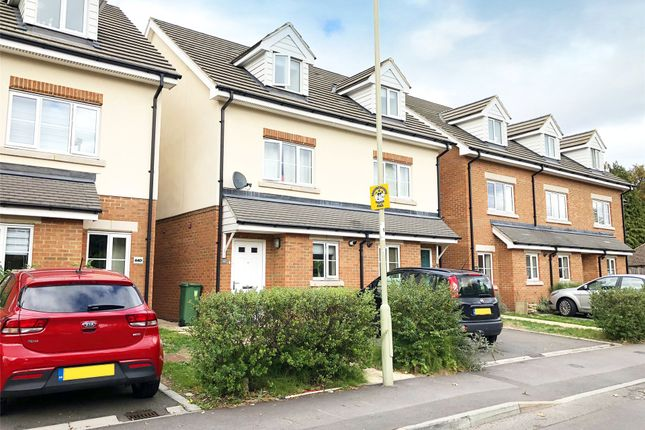 Thumbnail End terrace house to rent in Clockhouse Road, Farnborough, Hampshire