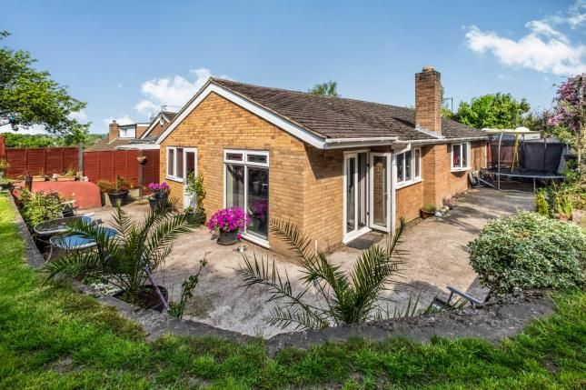 Thumbnail Bungalow for sale in Eden Road, Solihull, West Midlands