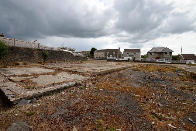Thumbnail Land for sale in Water Street, Gwaun Cae Gurwen, Ammanford