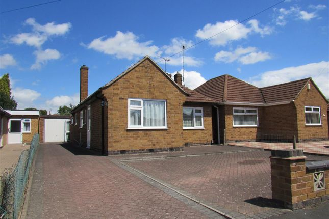 Thumbnail Detached bungalow for sale in Southdown Drive, Thurmaston, Leicester