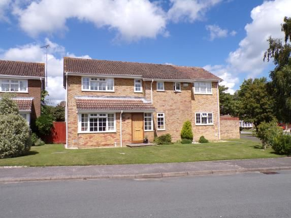 Thumbnail Detached house for sale in Hormare Crescent, Storrington, Pulborough, West Sussex