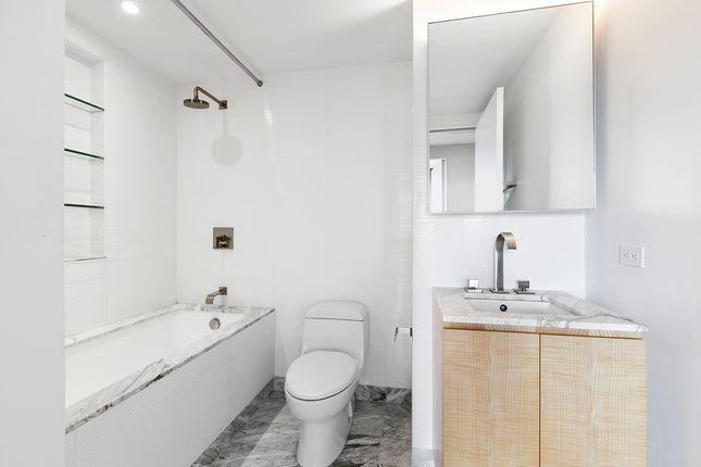 Bathroom of Manhattan, New York, Usa