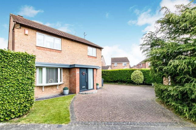 Thumbnail Detached house for sale in Melbourne Way, Waddington, Lincoln