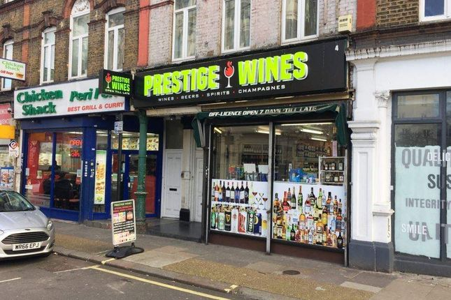 Thumbnail Retail premises for sale in North End Crescent, London