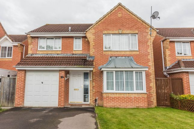 Thumbnail Detached house for sale in Paddick Drive, Lower Earley, Reading