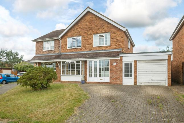 Thumbnail Detached house for sale in Home Close, Sharnbrook, Bedford, Bedfordshire
