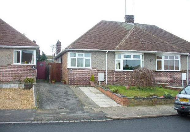Thumbnail Bungalow to rent in Upper Park Avenue, Rushden