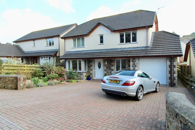 Thumbnail Detached house for sale in Lowarth Close, Helston