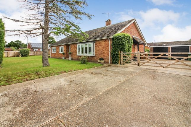 Thumbnail Detached bungalow for sale in Chapel Close, Pulham Market, Diss