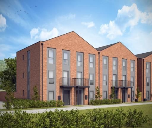 Thumbnail Town house for sale in Abbey Park Road, Leicester