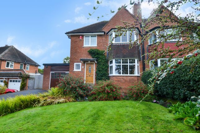 Thumbnail Semi-detached house for sale in Knighton Road, Bournville Village Trust, Birmingham