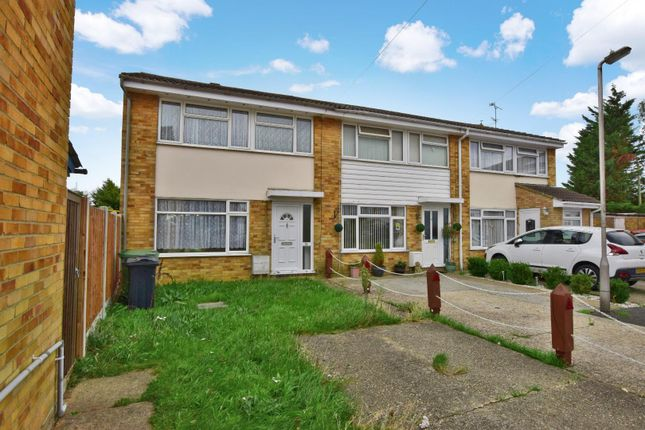 Thumbnail End terrace house for sale in Daniel Way, Silver End, Witham