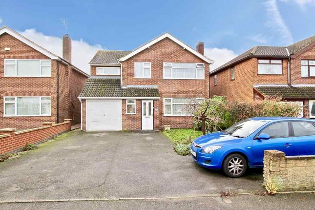 Thumbnail Detached house for sale in Mill Close, Sapcote, Leicester