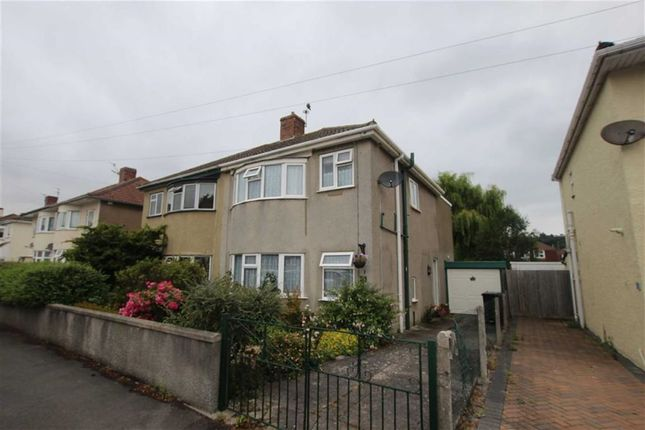 Thumbnail Semi-detached house for sale in Charter Road, Weston-Super-Mare