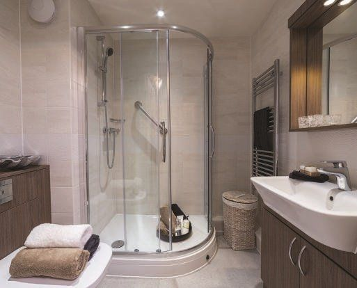 Shower Room of Kings Lodge, 71 King Street, Maidstone, Kent ME14