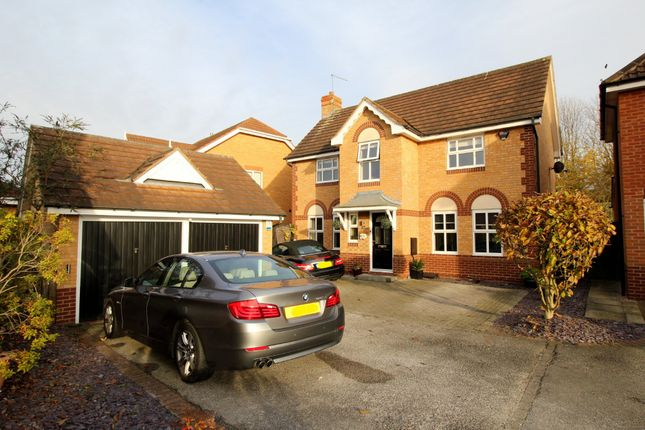 Thumbnail Detached house for sale in Gillercomb Close, West Bridgford, Nottingham