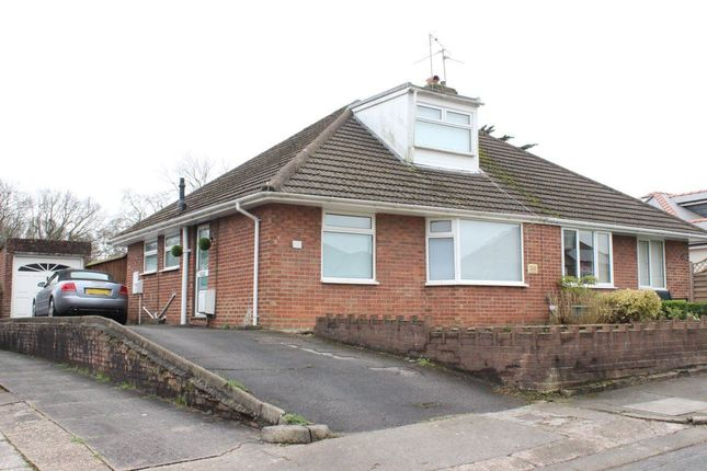 Thumbnail Bungalow to rent in Hackerford Road, Cyncoed, Cardiff