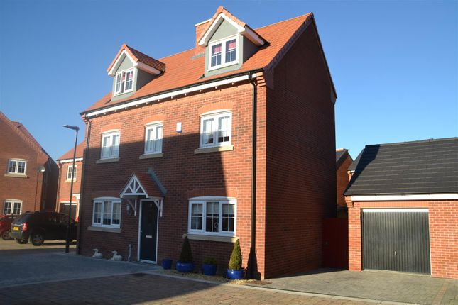 Thumbnail Detached house for sale in Allerton Close, Chorley
