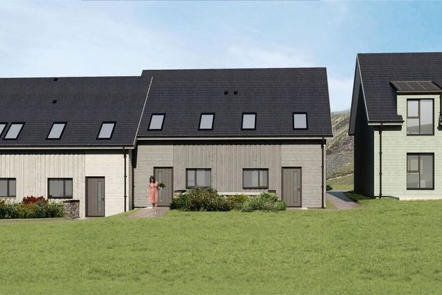 Thumbnail Terraced house for sale in Plots 2, 3, 4, 5 & 6, Pistyll, Gwynedd