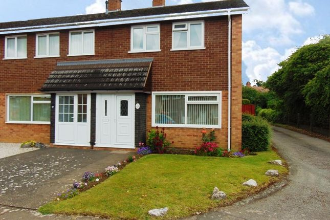 Thumbnail Terraced house for sale in Fountain Gardens, Evesham
