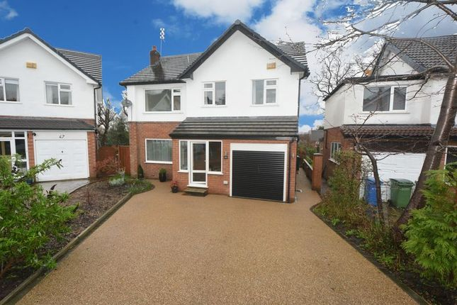 Thumbnail Detached house for sale in Cringle Drive, Cheadle