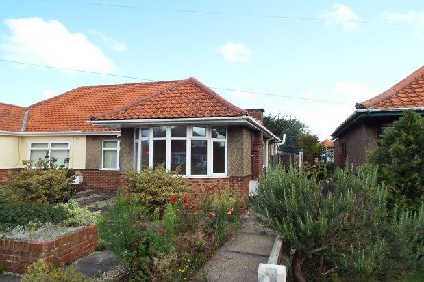 Thumbnail Bungalow to rent in Pound Lane, Gorleston, Great Yarmouth
