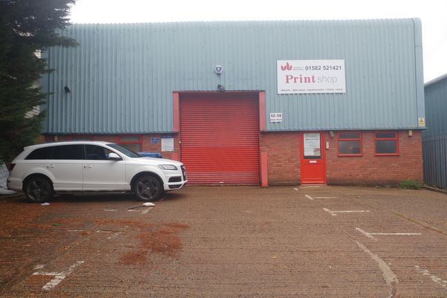 Thumbnail Industrial to let in Albert Road, Luton
