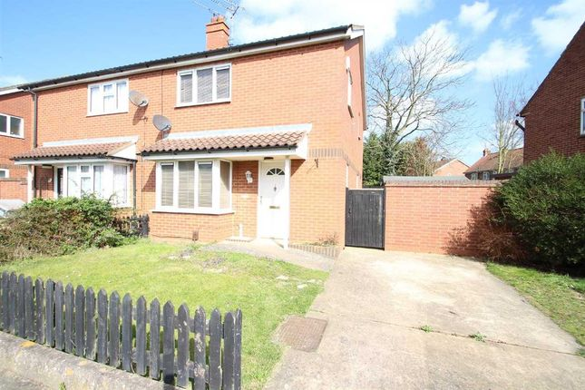 Thumbnail Semi-detached house for sale in Donegal Road, Ipswich