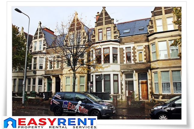 Thumbnail Shared accommodation to rent in Marlborough Road, Roath