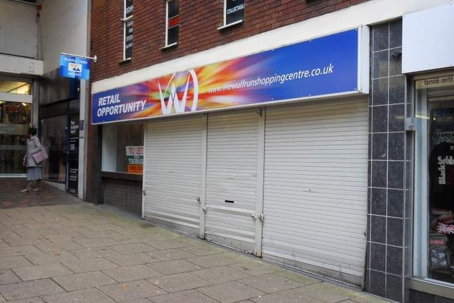 Thumbnail Retail premises to let in Various Units, Victoria And St Johns Street, Wolverhampton