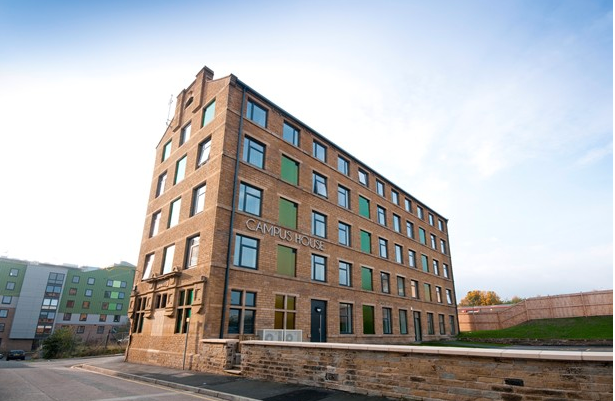 Thumbnail Flat to rent in Campus House, Bradford