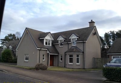 Thumbnail Detached house to rent in Chestnut Park, Banchory