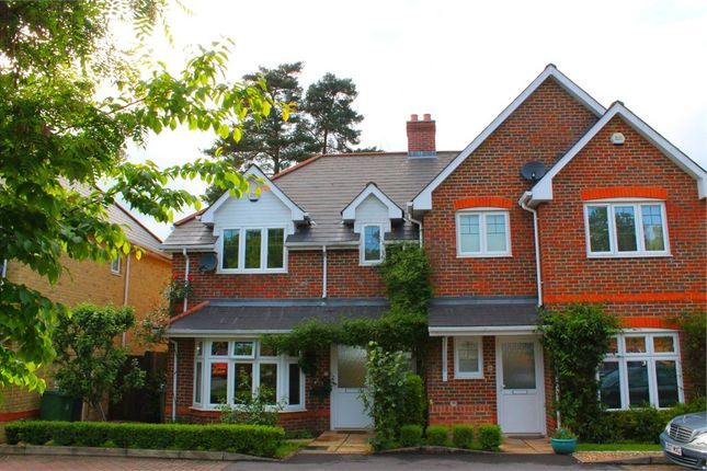 Thumbnail Semi-detached house to rent in Badgers Copse, Camberley