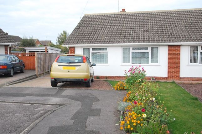 Thumbnail Semi-detached bungalow for sale in Manor Park, Longlevens, Gloucester