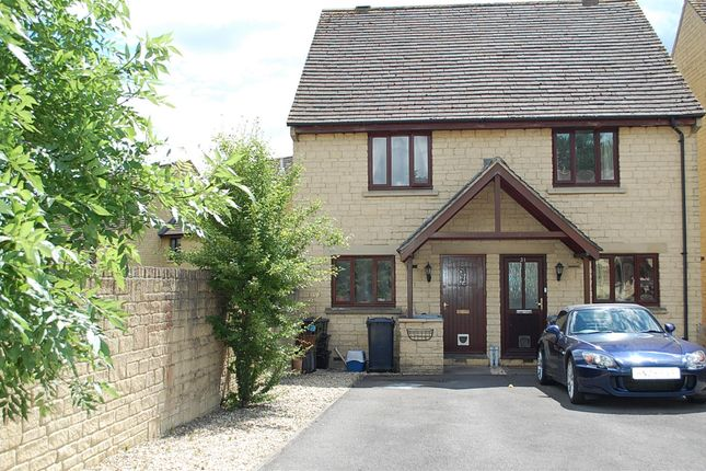 Thumbnail Semi-detached house to rent in Deer Park, Witney, Oxfordshire