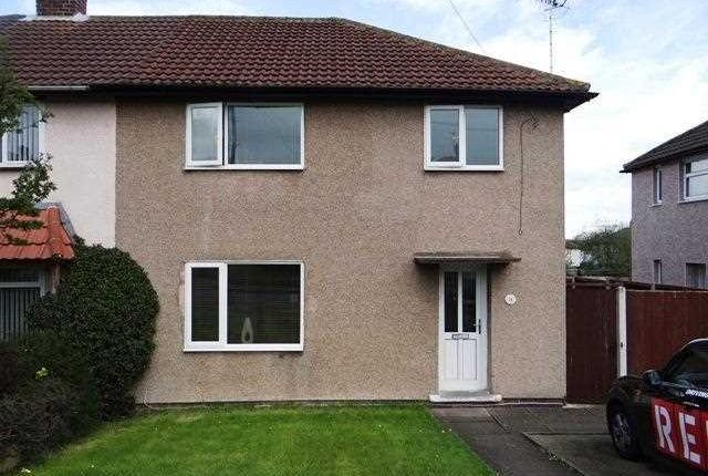Thumbnail Semi-detached house for sale in Oakbank Avenue, Old Whittington, Chesterfield