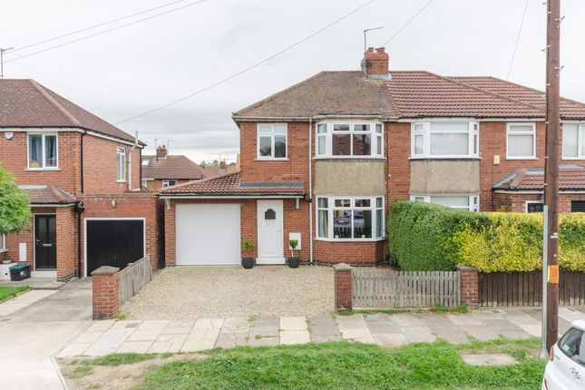 Thumbnail Semi-detached house for sale in Campbell Avenue, York