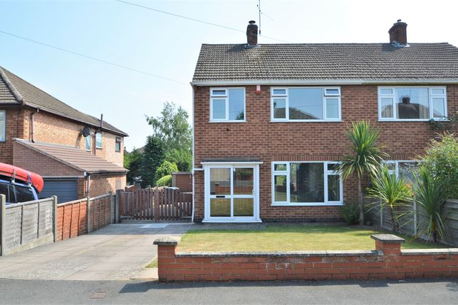 Thumbnail Semi-detached house for sale in Fleet Crescent, Hillmorton, Rugby