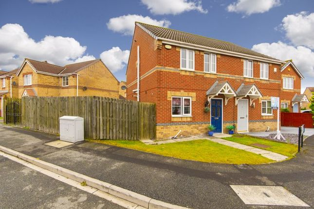 Thumbnail Semi-detached house for sale in Holyhead Court, Eston, Middlesbrough