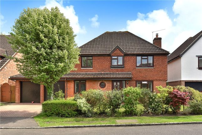 Thumbnail Detached house for sale in Forbes Chase, College Town, Sandhurst