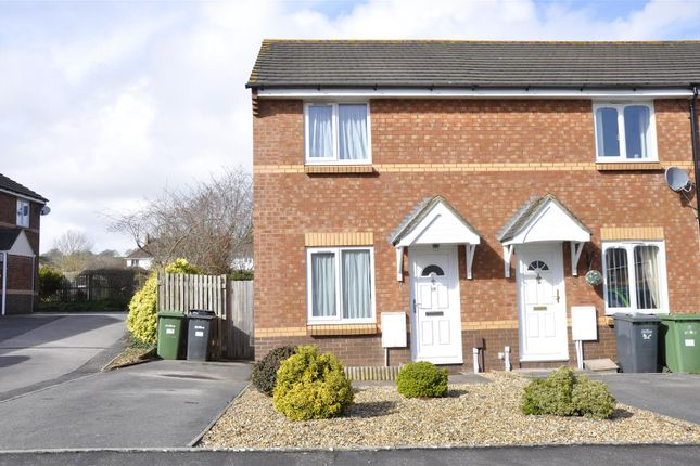 Thumbnail End terrace house to rent in Rews Meadow, Pinhoe, Exeter