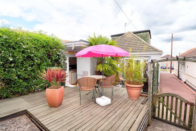 Thumbnail Detached bungalow for sale in Cranham Gardens, Cranham, Upminster