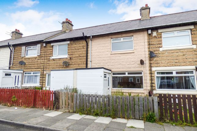 Thumbnail Terraced house to rent in Emerson Road, Newbiggin-By-The-Sea